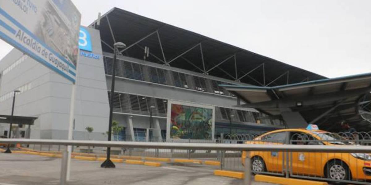 Terminal Terrestre de Guayaquil cierra sus puertas al público