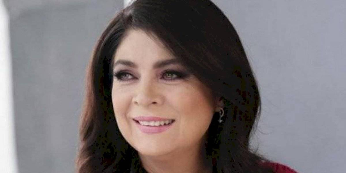 Publican foto de Victoria Ruffo al natural y sin maquillaje y nadie puede creer que es ella