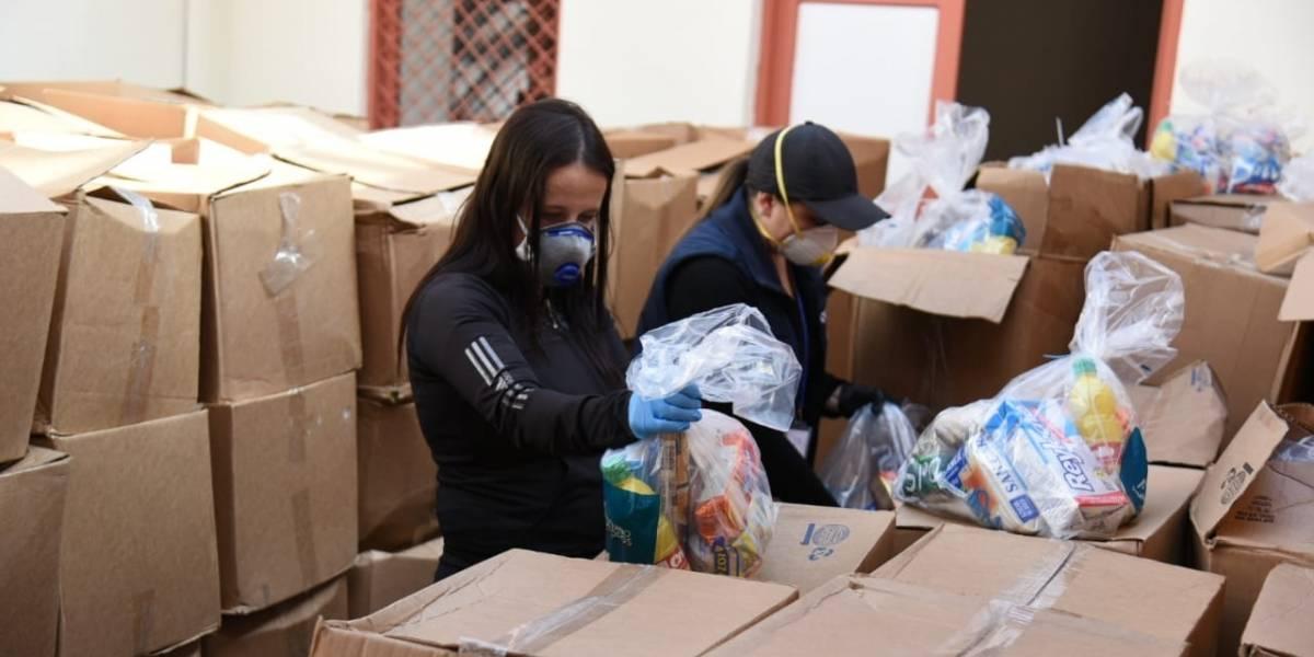 Donaciones ya se distribuyen en Cuenca