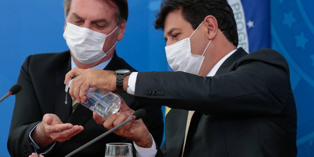 Datafolha: Aprovação de Mandetta atinge 76%; Bolsonaro tem 33%