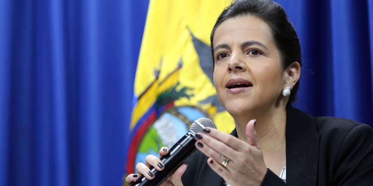 María Paula Romo responde a pedido del  Municipio de Quito