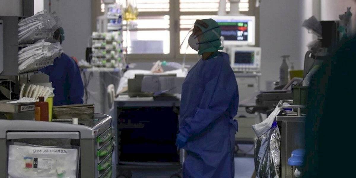 Tablets para despedirse de los enfermos de coronavirus en Italia
