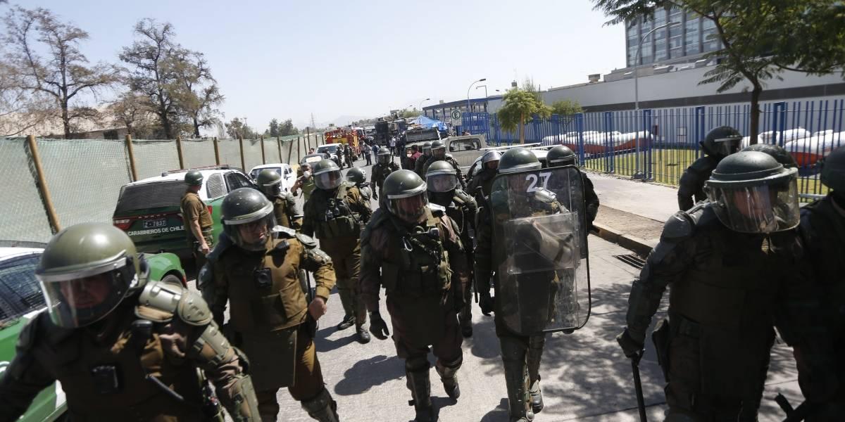 Tras intento de motín: INDH revisa situación en Santiago I mientras se viralizan registros desde el interior del penal