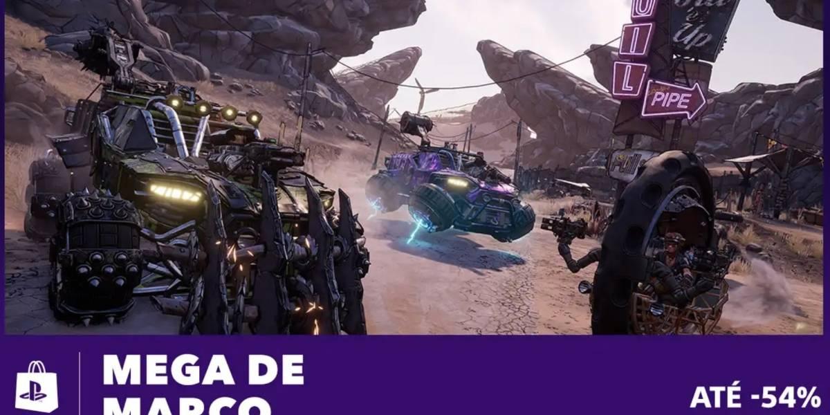 Nova promoção 'Mega de Março' já está disponível na PS Store