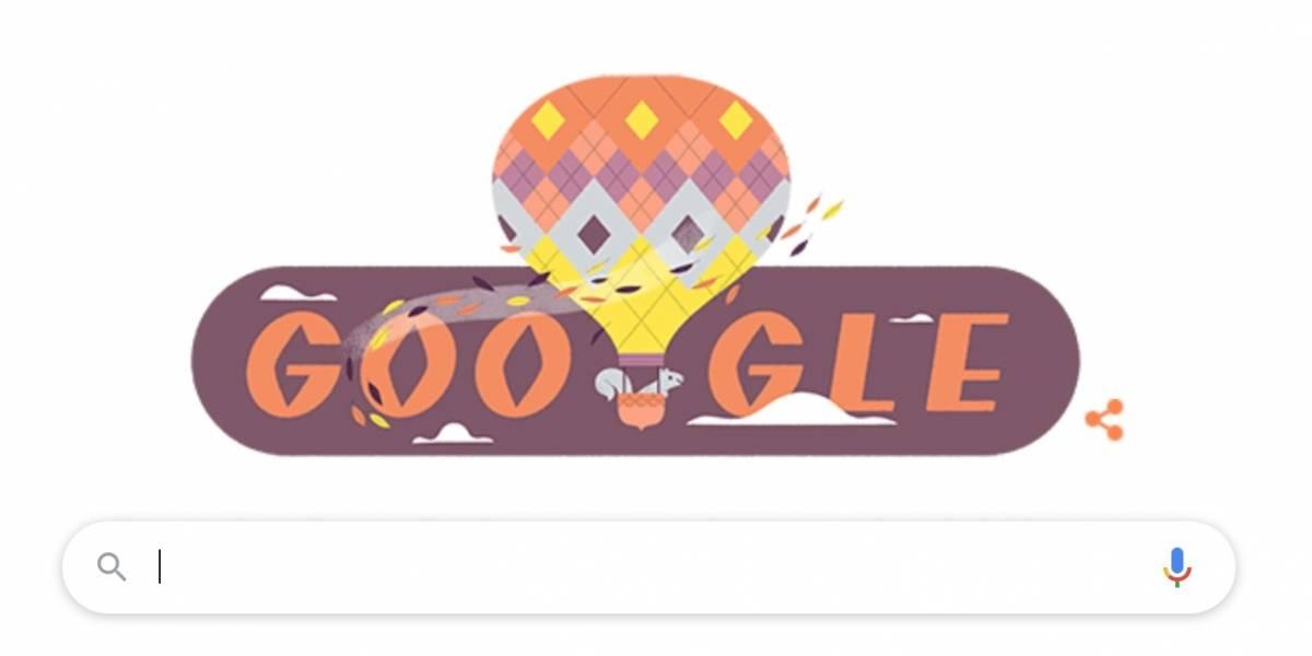 Google lança doodle especial para marcar início do outono nesta semana