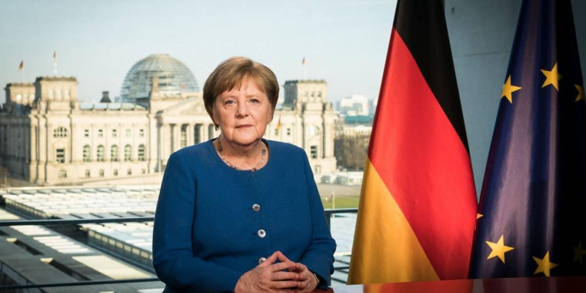 'Maior desafio desde a Segunda Guerra Mundial', diz Angela Merkel sobre coronavírus