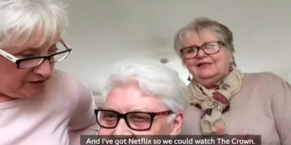 3 amigas de 70 años decidieron irse a pasar juntas la cuarentena