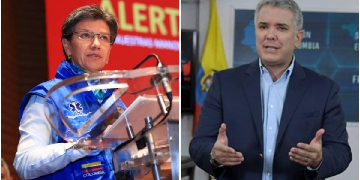 Presidente avala simulacro de aislamiento voluntario en Bogotá