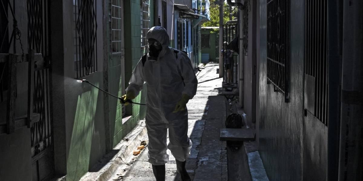 El ejército y la policía toman Metapán tras el primer caso de coronavirus en El Salvador