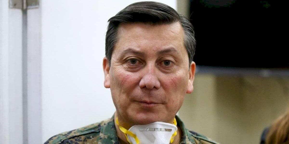 General Ricotti anuncia despliegue de 7 mil militares en la Región Metropolitana por Estado de Catástrofe