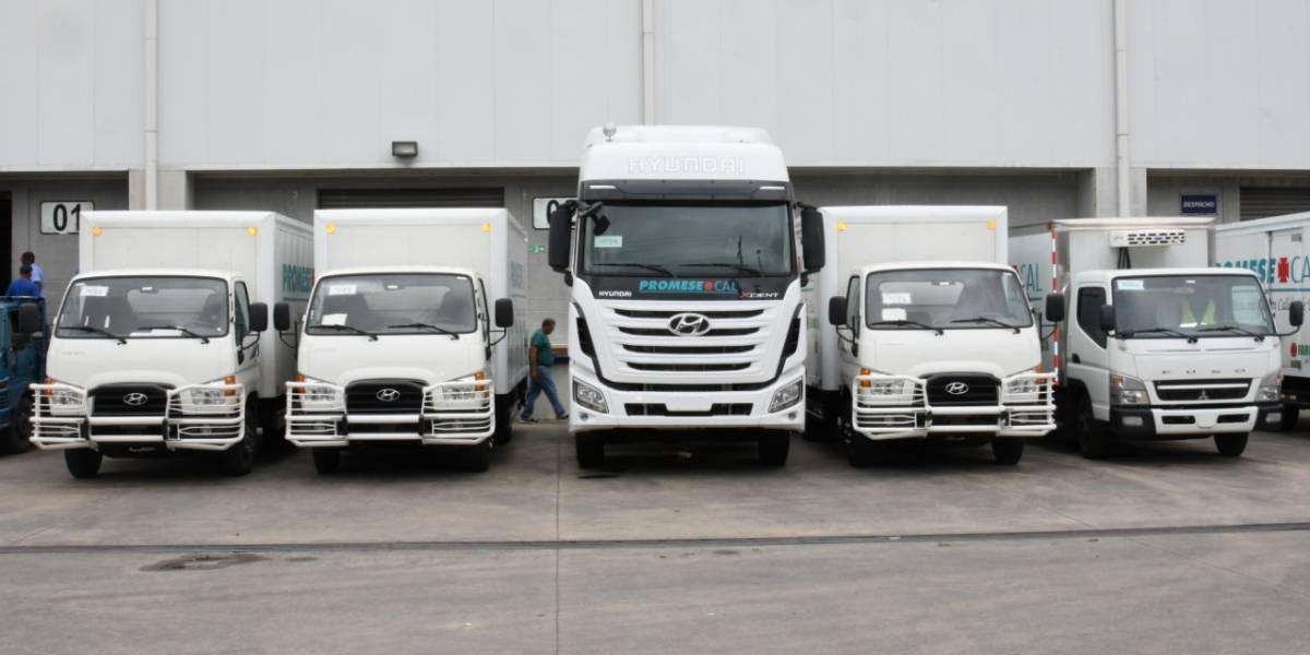 Promese/Cal adquiere moderna flotilla de camiones para eficientizar servicios