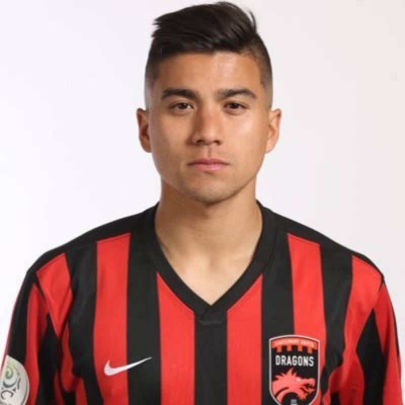 Juan José Chang jugador del Canterbury United en Nueva Zelanda