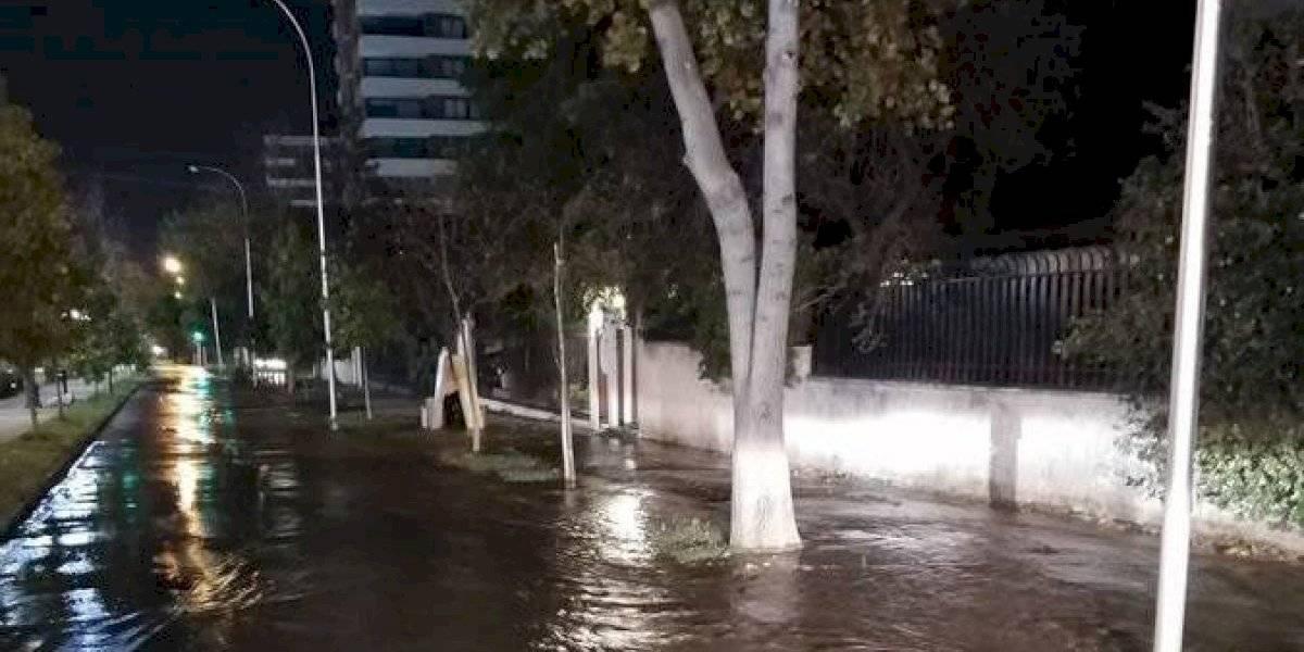 Rotura de cuatro matrices de agua afecta a cerca de 300 familias en Providencia