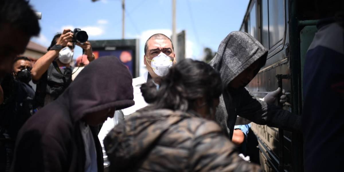 Al menos 43 guatemaltecos retornados de EE. UU. han dado positivo al Covid-19