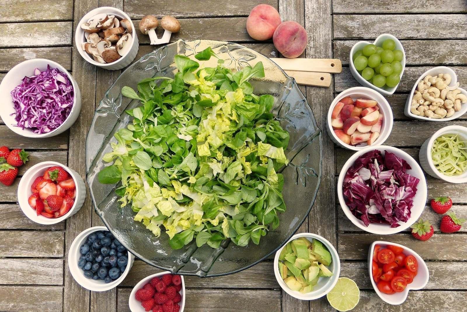 Comida saludable por sistema inmunológico