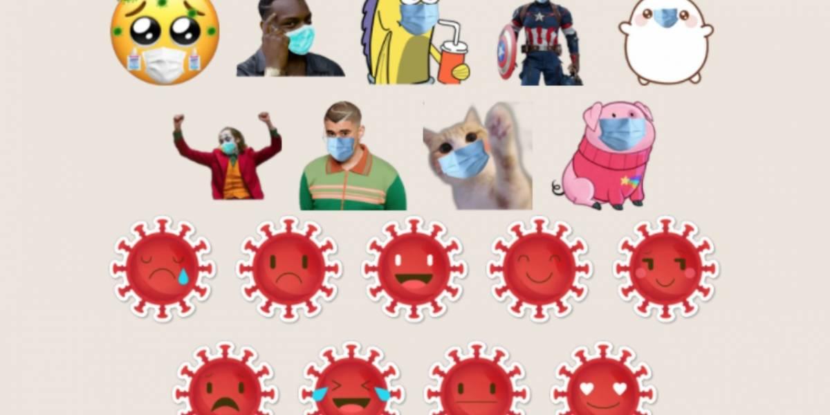 WhatsApp: ya puedes descargar stickers del Coronavirus
