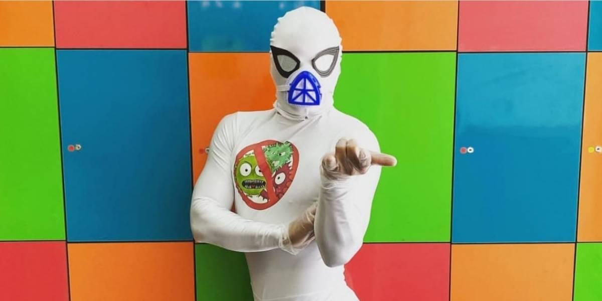 ¿Será el fin del Coronavirus? Sensual Spiderman estrena a nuevo héroe tras pandemia global