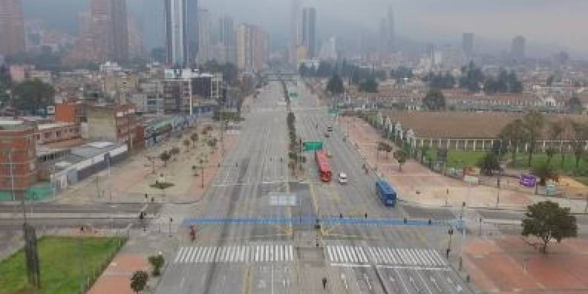 (FOTOS Y VIDEOS) Así se ve Bogotá en la primera mañana de simulacro de aislamiento obligatorio