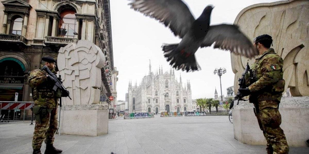 Italia informa de 627 nuevas muertes por coronavirus