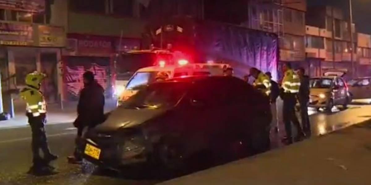 Cinco conductores protagonizaron accidentes de tránsito en la madrugada de este viernes