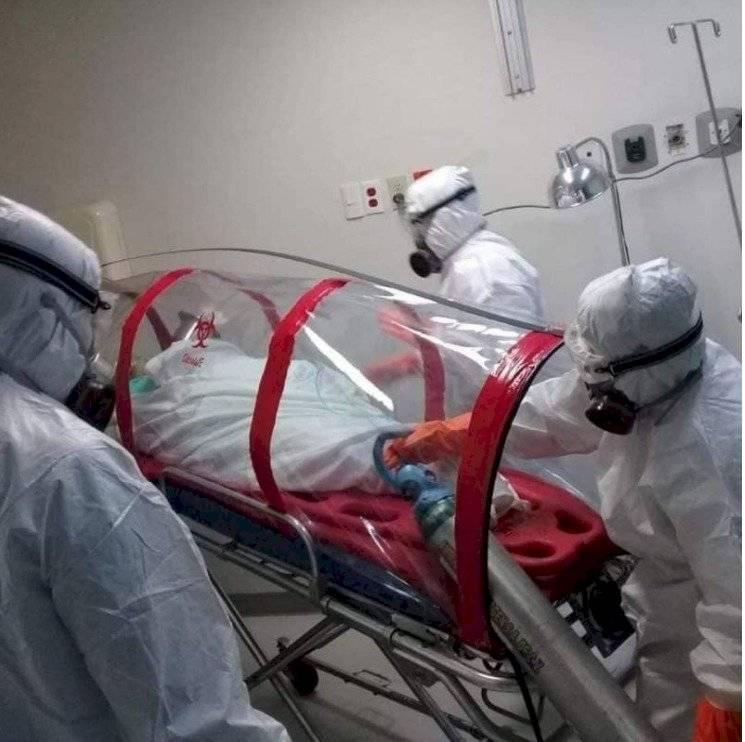 Paciente con coronavirus llega a hospital en México