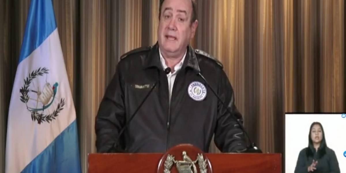 Presidente Giammattei anuncia ubicación de los hospitales de campaña por coronavirus