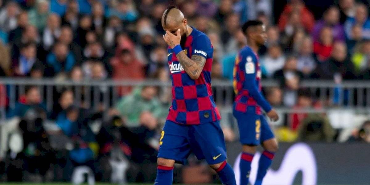 ¿Qué dirá Vidal? Barcelona le pedirá al plantel que se bajen el sueldo por la crisis del coronavirus