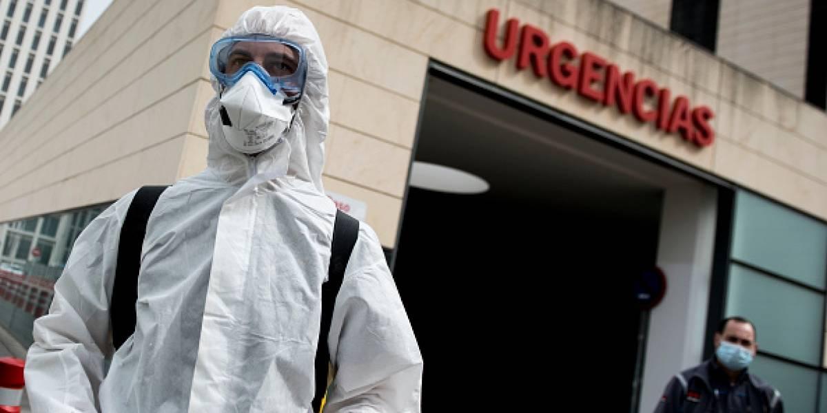 España reporta 769 muertos por coronavirus en un día. En total 4. 858 fallecidos