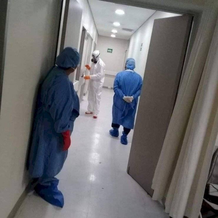 Hospital de México con coronavirus