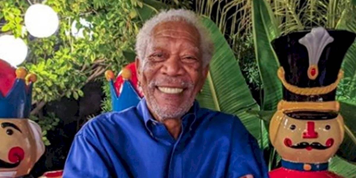 Morgan Freeman manda mensaje sobre su estado de salud