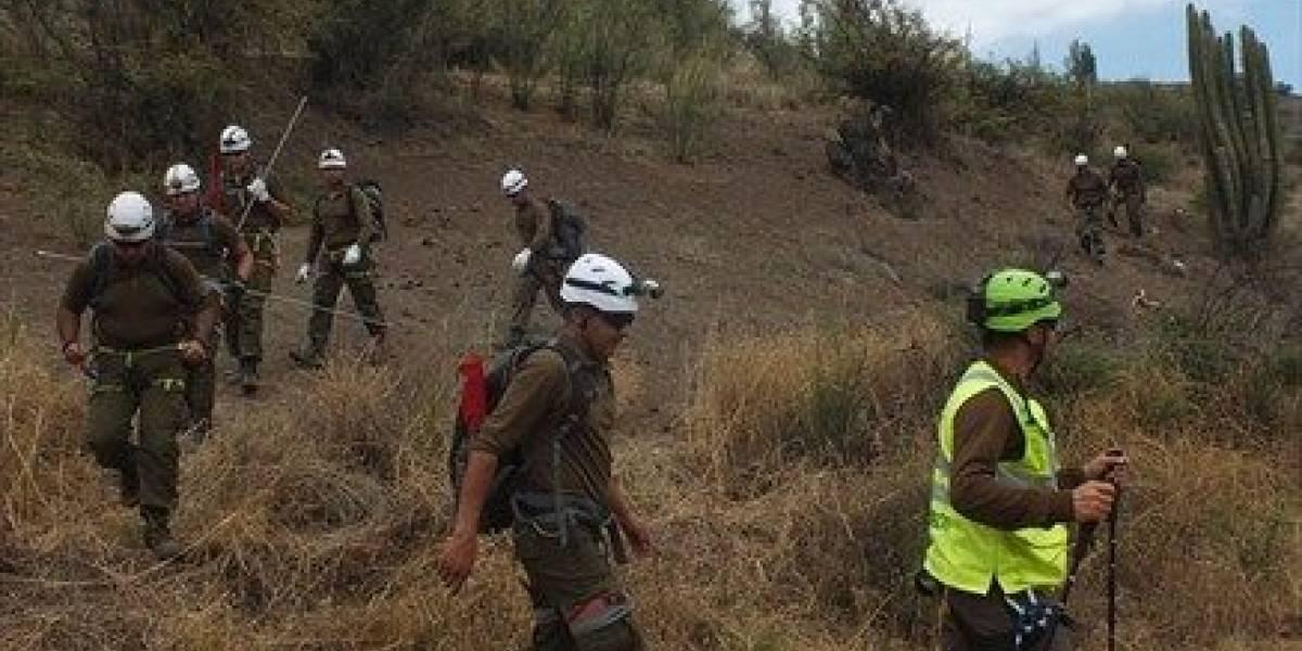 Carabineros encontró en buenas condiciones al menor que se encontraba desaparecido en el Cerro Panul
