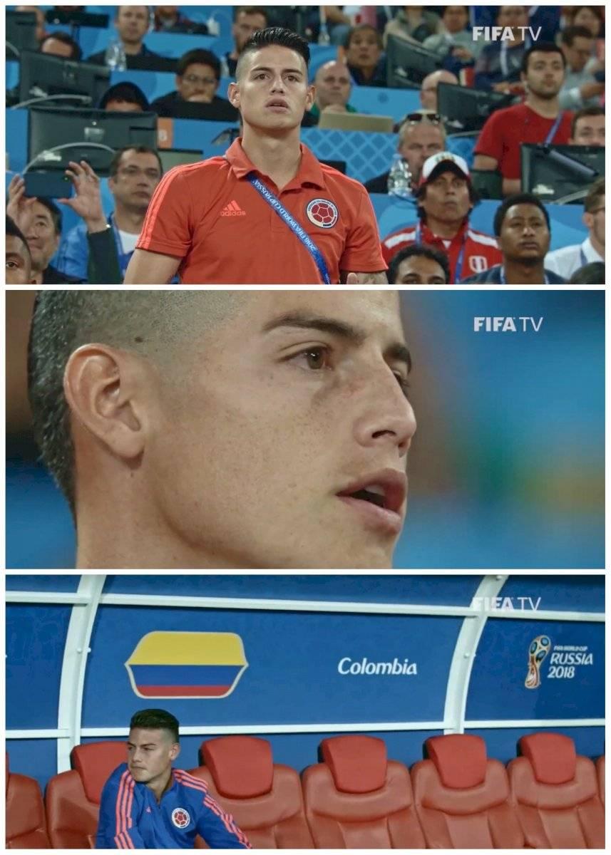 película del Mundial Rusia 2018 revivió tristeza de James Rodríguez