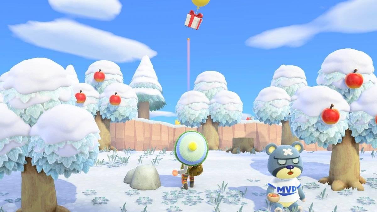 Cenários acompanham a estação do ano Divulgação/Nintendo