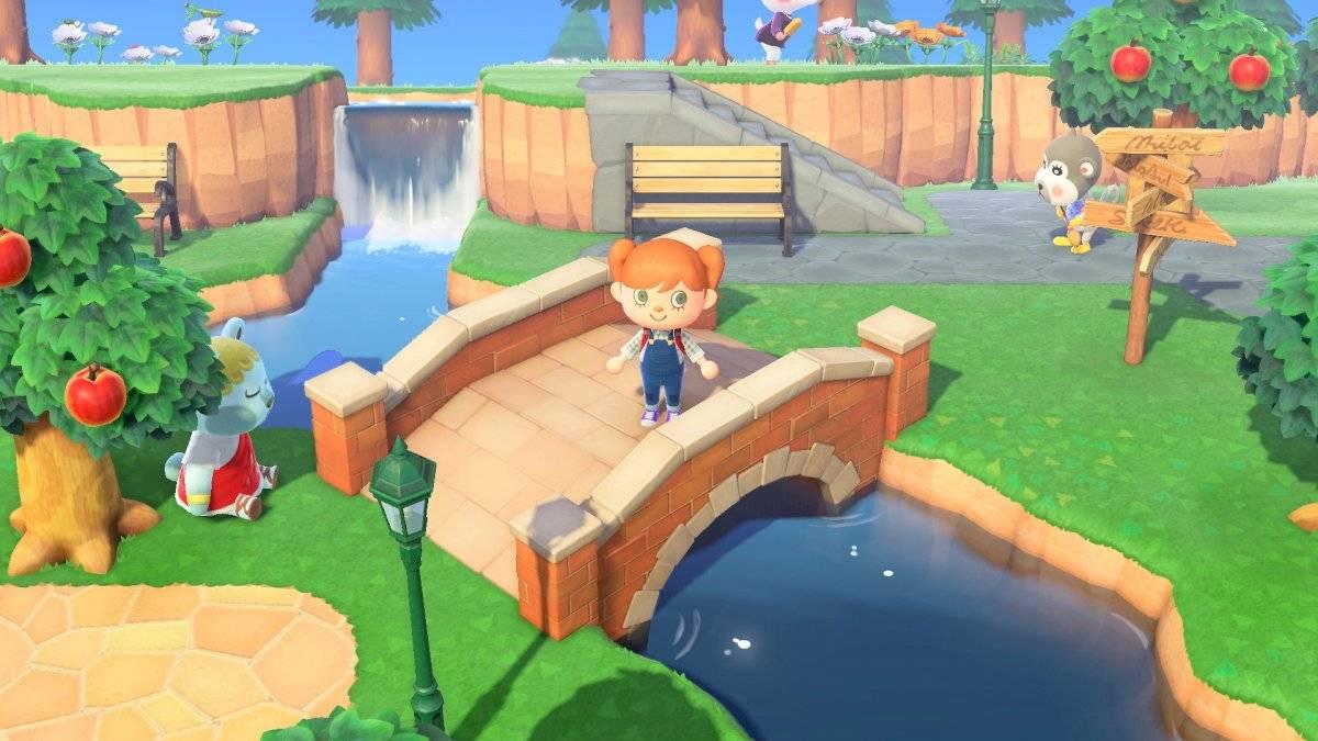Construa pontes para acessar novas áreas (mas sem pressa!) Divulgação/Nintendo