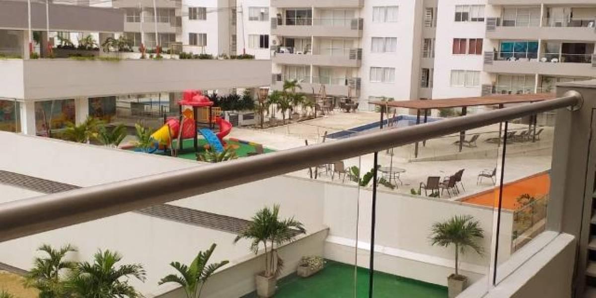 Mujer cayó del noveno piso de un conjunto residencial
