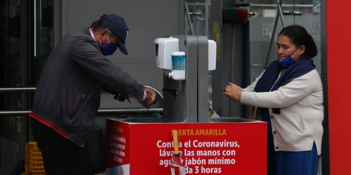 Preocupación por nuevos casos de coronavirus en Bogotá, la mitad de Colombia