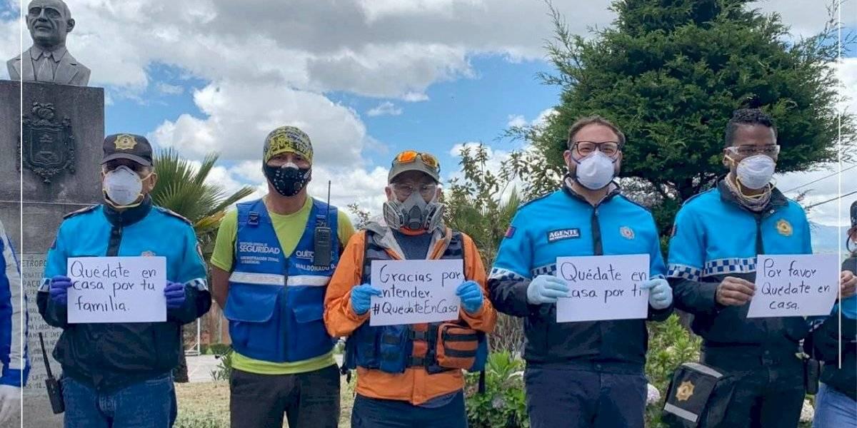 Coronavirus en Ecuador: Agentes de Control envían mensaje a los habitantes de Quito