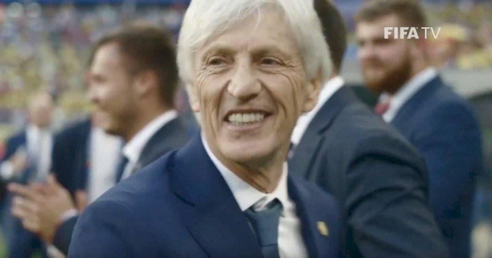 La sonrisa de José Pékerman por la clasificación