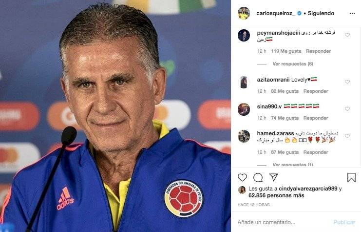 3. Respuestas a Carlos Queiroz por mensaje sobre el coronavirus
