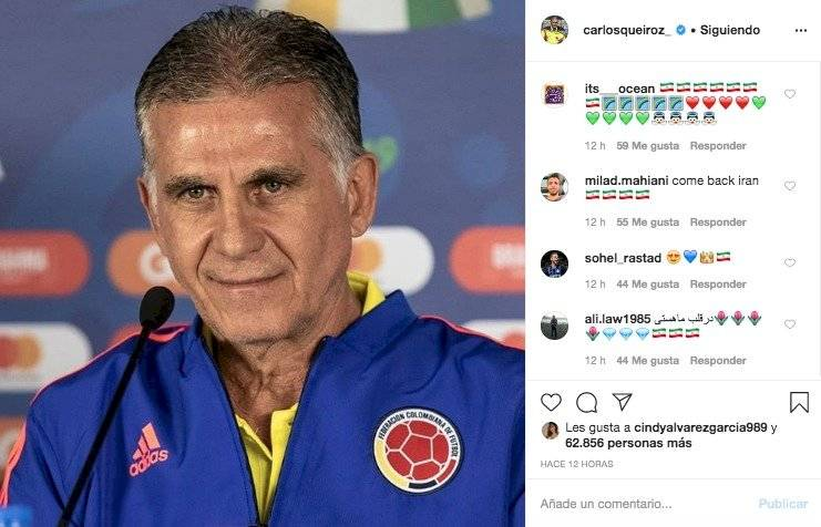 4. Respuestas a Carlos Queiroz por mensaje sobre el coronavirus