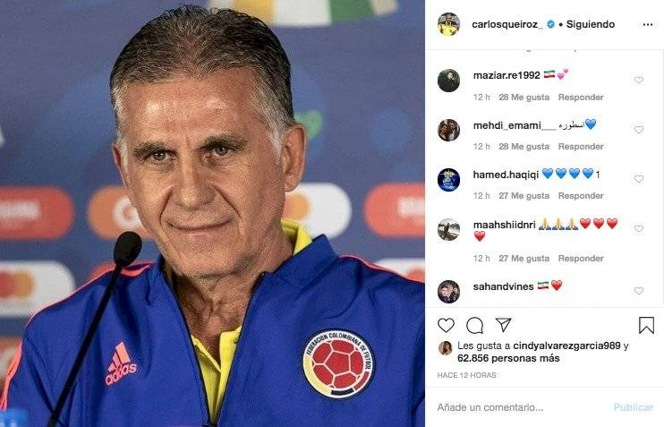 1. Respuestas a Carlos Queiroz por mensaje sobre el coronavirus