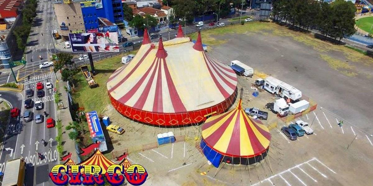 Covid-19: Circo ofrece sus carpas para hospitales móviles o albergues temporales