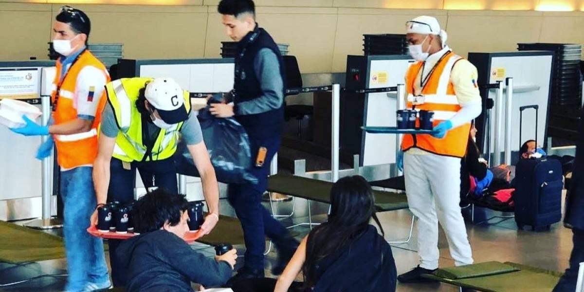 La compleja situación que viven extranjeros atrapados en Aeropuerto El Dorado