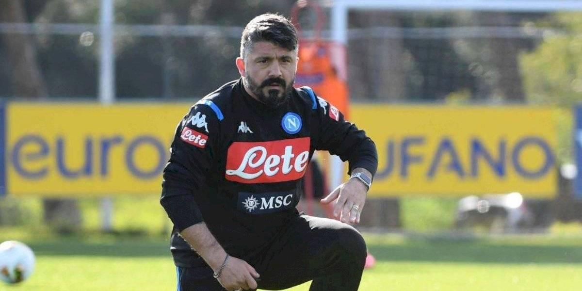 ¿Seguros? Napoli hace caso omiso a la situación en Italia y el miércoles volverá a los entrenamientos