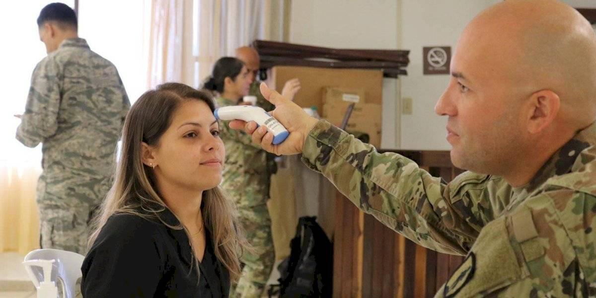 Estudiantes de medicina se unen a la Guardia Nacional contra el COVID-19