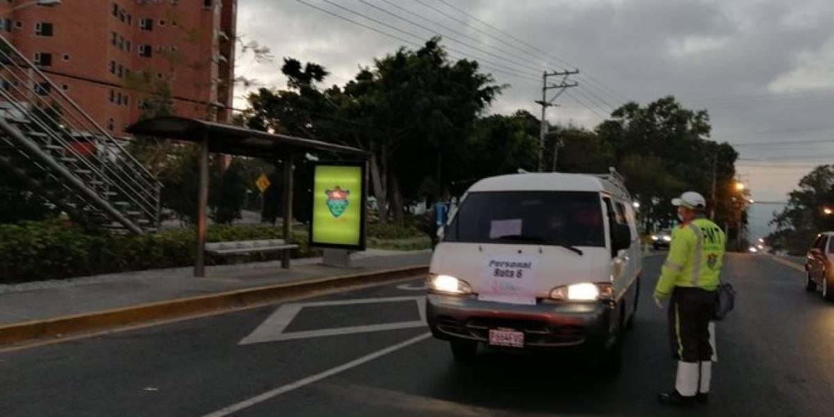 Verifican cumplimiento de restricciones al transporte para evitar más casos de Coronavirus