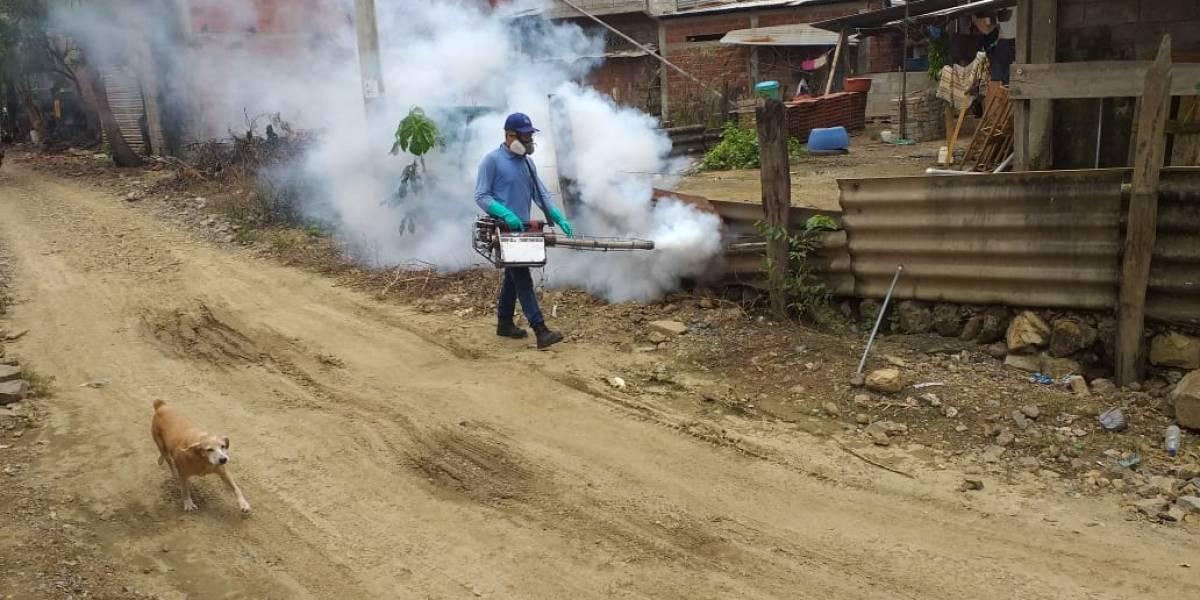 Prefectura del Guayas trabaja para combatir el invierno y el coronavirus