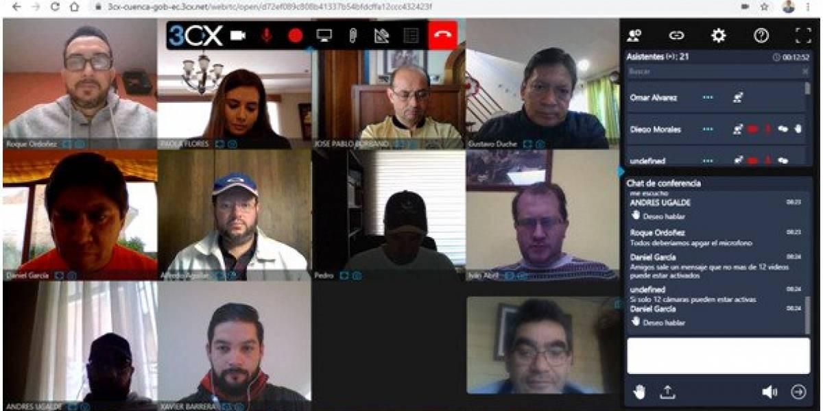 Concejo Cantonal de Cuenca sesionaría vía digital