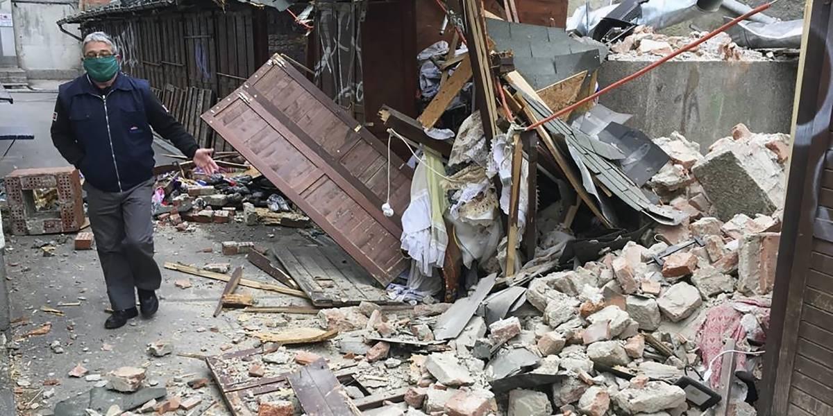 Terremoto sacude a Croacia en medio de cuarentena por coronavirus