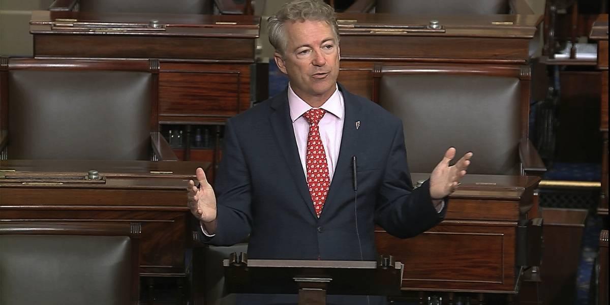 Republicano Rand Paul se convierte en primer senador de Estados Unidos en dar positivo a COVID-19